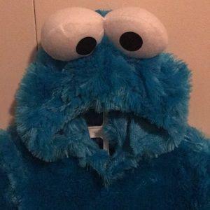 Sesame Street Costumes - Toddler Cookie Monster Costume - Like New & Sesame Street Costumes | Toddler Cookie Monster Costume Like New ...